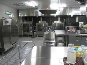 調理室(スチコン)